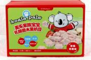 美乐家熊宝宝乳酸菌水果奶豆