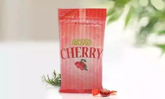 美乐家清凉味糖果—香柠蜂蜜田园樱桃