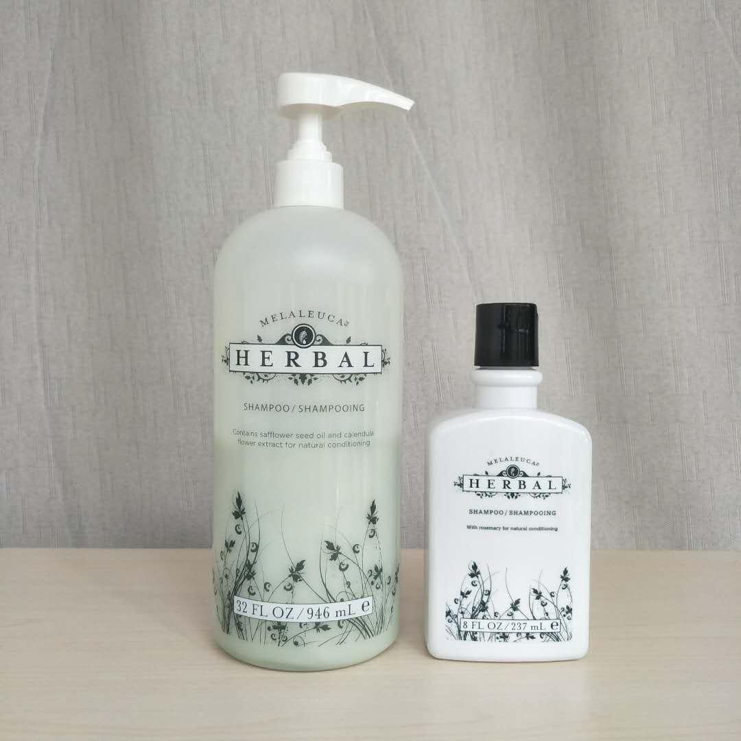 花言草语本草植物洗发乳