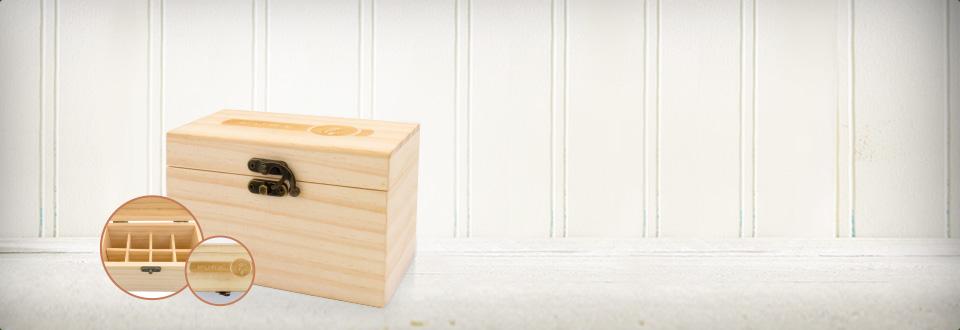 美乐家纯质精油小木盒
