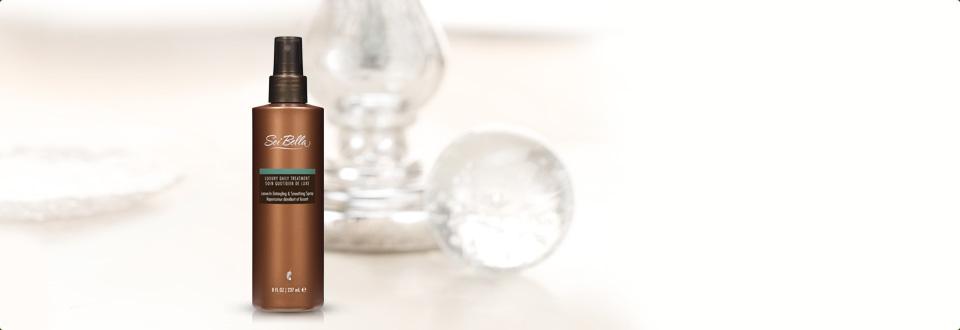 水•贝娜®奢华美发系列:免洗顺发喷雾