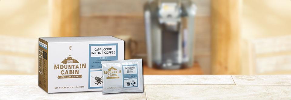 卡布奇诺3合1速溶咖啡