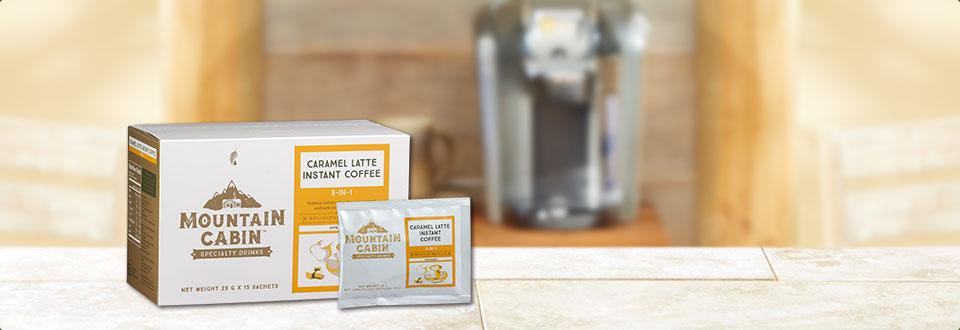 焦糖拿铁3合1速溶咖啡